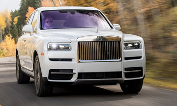 Rolls-Royce Cullinan Hire Leicester